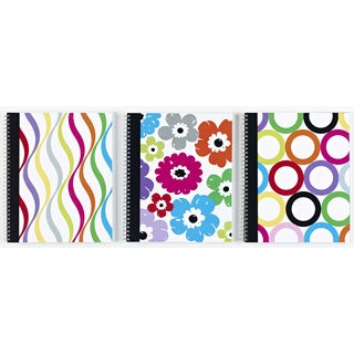 "Carolina Pad 25510 10.5"" X 8.5"" Sugarland 1 Subject Notebook Assorted Colors"