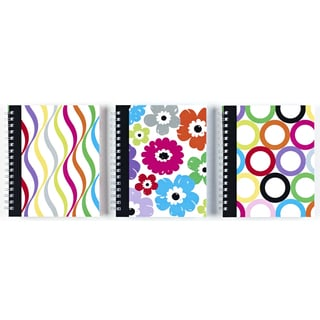 "Carolina Pad 25511 8.6"" X 6.5"" Sugarland Ideal Notebook Assorted Colors"