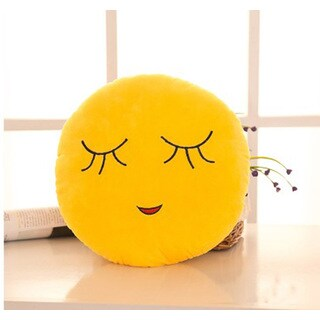 Emoji Mini Expression Shy Face Plush