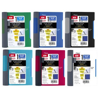 "Five Star 45176 7"" X 5"" 100 Pages Notebook Assorted Colors"