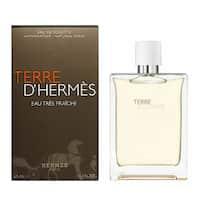 Hermes Terre D'hermes Eau Tres Fraiche Men's 4.2-ounce Eau De Toilette Spray