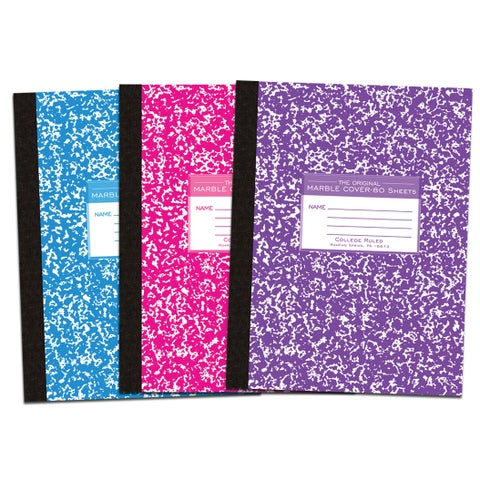 Roaring Spring Paper Company 77480 10-1/4 X 7-3/4 Composition Book Assorted Colors
