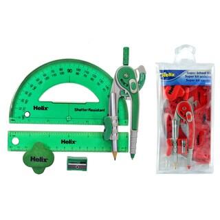 Helix 36008 Super School Assorted Colors 6-Piece Kit