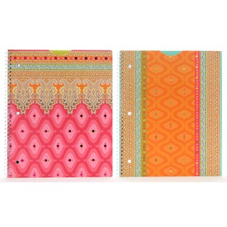 "Carolina Pad 29953 11.25"" X 9.25"" Taj Mahal Subject Notebook Assorted Styles"