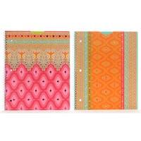 "Carolina Pad 29953 11.25"" X 9.25"" Taj Mahal Subject Notebook Assorted Styles"