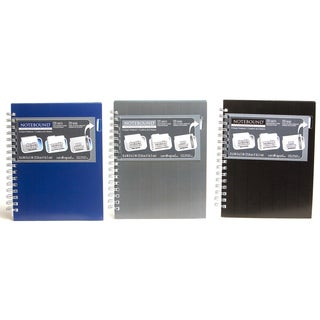 "Carolina Pad 90790 6.5"" X 8.5"" College Rule MX Poly Cover Notebook Assorted"