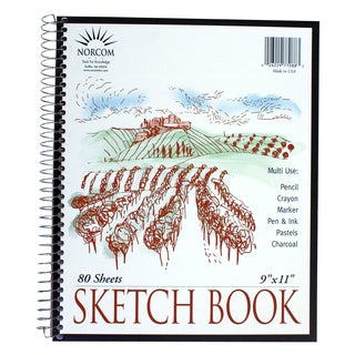 "Norcom 77088-12 9"" x 11"" Sketch Book"