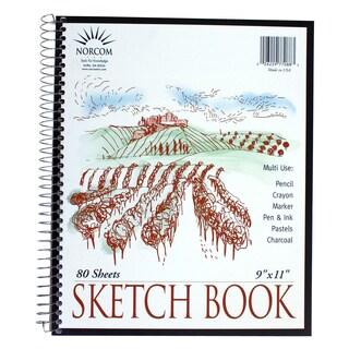 "Norcom 77088-12 9"" x 11"" Sketch Book"