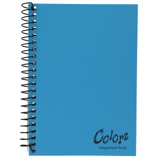 "Norcom 77388-12 7"" X 5"" Assignment Notebook Assorted Colors"