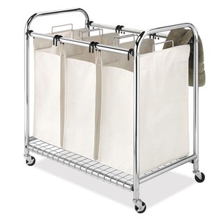 Whitmor Deluxe Triple Laundry Sorter