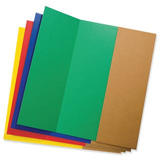 """Pacon 3765 48"""" X 36"""" Presentation Board Assorted Colors