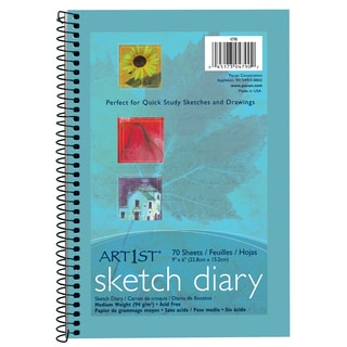 "Pacon 4790 9"" X 6"" Sketch Diary 70 Sheets"