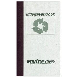 "Roaring Spring Paper Company 77356 5"" X 3"" 60 Sheet Little Green Book"