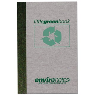 """Roaring Spring Paper Company 77357 6"""" X 4"""" Little Green Book"""