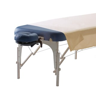 Creme Microfiber Top Sheet for Massage Table