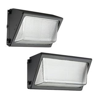 Lithonia Lighting TWR1 LED 1 50K MVOLT PE M2 LED 5000K and 2,500 Lumens Small Bronze Wall Pack with Glass Lens