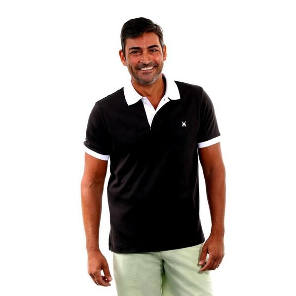 Medardo Martin Men's Cotton Polo with Undershirt
