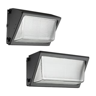 Lithonia Lighting Black Aluminum/Glass LED Wall Pack