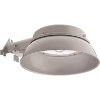 Lithonia Lighting DNA M4 Oval Oval 40K 120 PE Integrated LED Dusk-to-dawn Outdoor Area Light