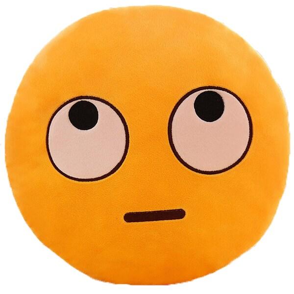 BH Toys Big Eyes Face Multicolor Cotton Emoji Plush Expression Pillow