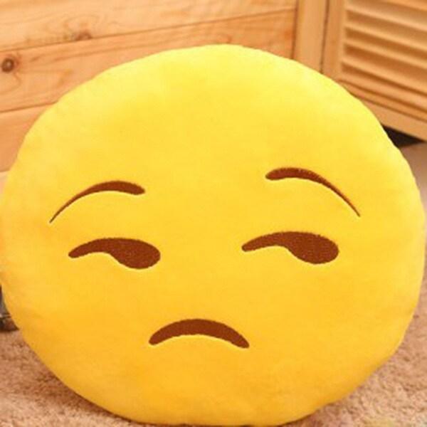 Emoji Mini Expression Decline Face Plush