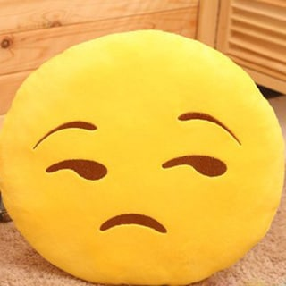Emoji Mini Expression Decline Face Plush