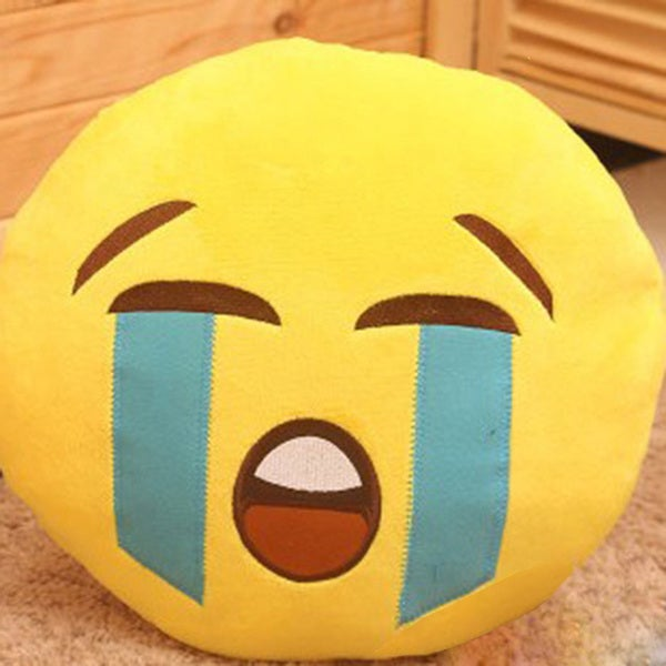 Emoji Mini Expression Cry Face Plush