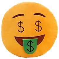 BH Toys Emoji Series Money Face Plush Pillow
