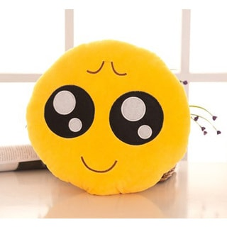 BH Toys Expression Obident Face Emoji Mini Plush Pillow