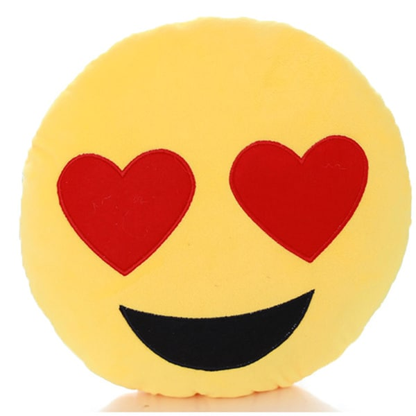 Emoji Mini Expression Heart Eyes Face Plush