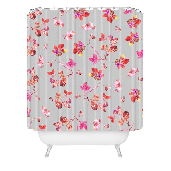 Bianca Green Bloom I Shower Curtain