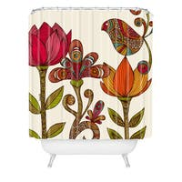 Valentina Ramos In The Garden Shower Curtain