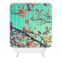 Shannon Clark Summer Bloom Shower Curtain