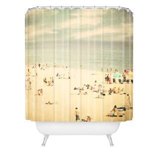 Shannon Clark Vintage Beach Shower Curtain