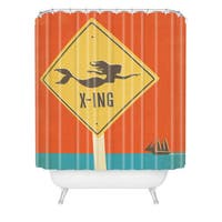 Anderson Design Group Mermaid X Ing Shower Curtain