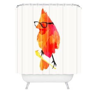 Robert Farkas Punk Bird Shower Curtain