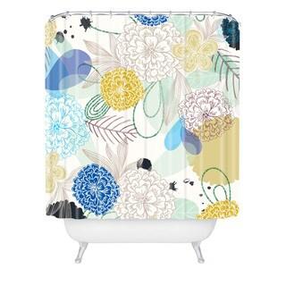 Khristian A Howell Whisper 2 Shower Curtain