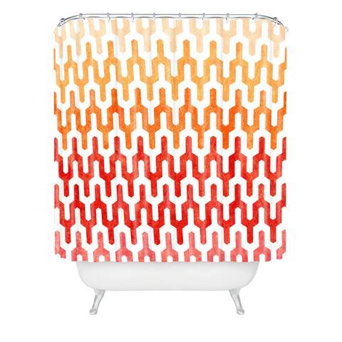 Arcturus Warm 1 Shower Curtain