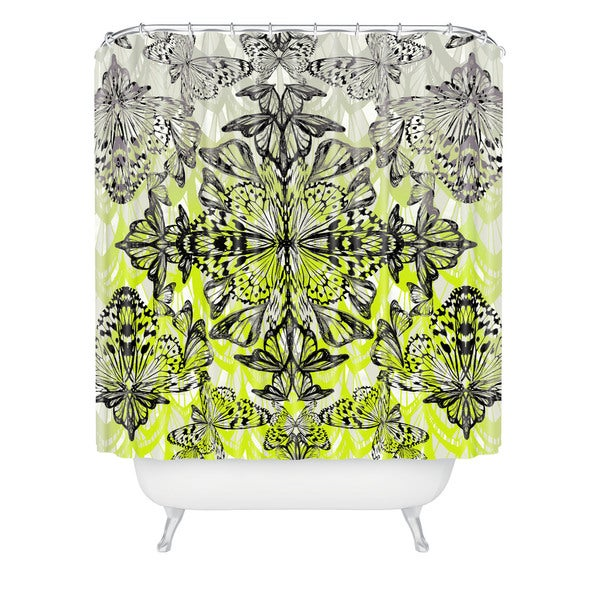 Pattern State Butterfly Tail Shower Curtain