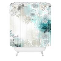 Iveta Abolina Seafoam Shower Curtain