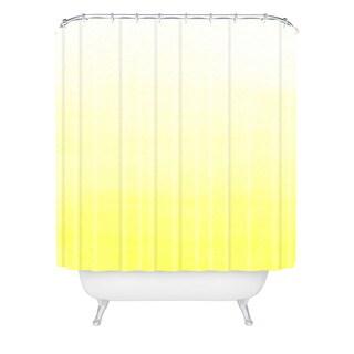 Social Proper Lemon Ombre Shower Curtain