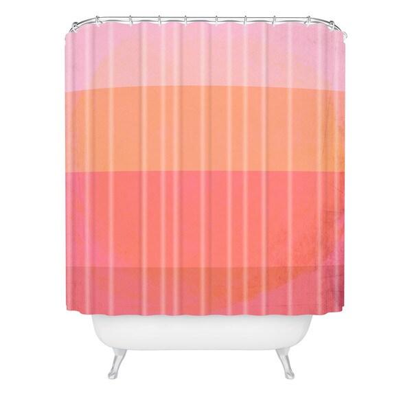 Hello Twiggs Love In Color Shower Curtain
