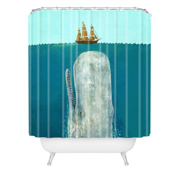 Terry Fan The Whale Shower Curtain - Free Shipping Today ...