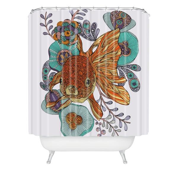 Valentina Ramos Little Fish Shower Curtain