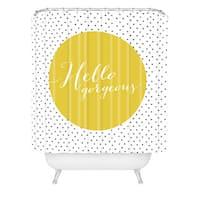 Allyson Johnson Hello Gorgeous Shower Curtain