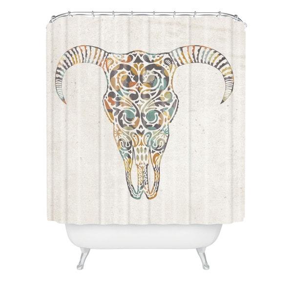 Loni Harris Wild West Shower Curtain