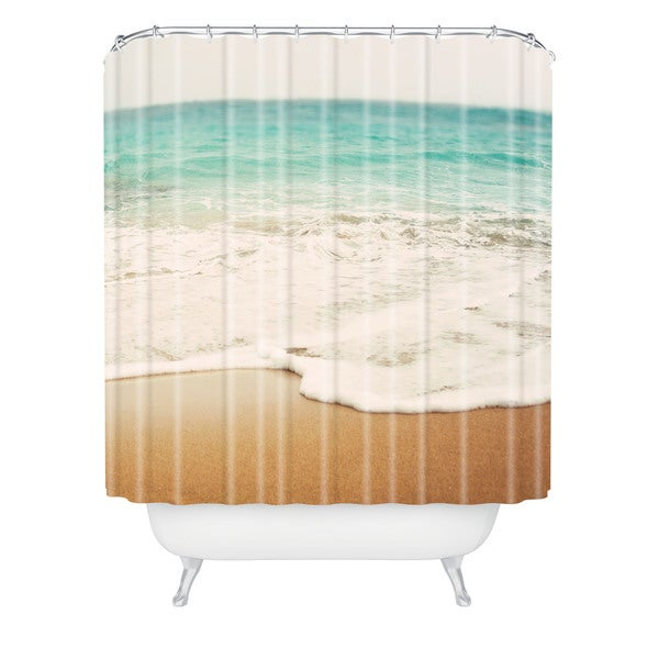 Bree Madden Ombre Beach Shower Curtain