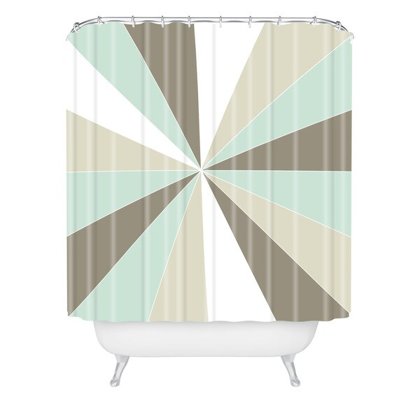 Caroline Okun Champagne Shower Curtain