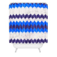 Holli Zollinger Chevron Kilim Shower Curtain