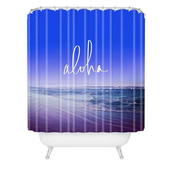 Leah Flores Aloha Beach Shower Curtain